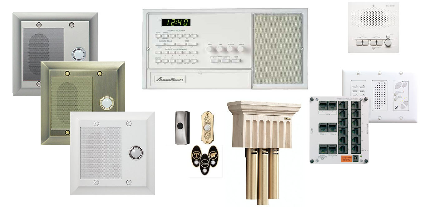 Intercom Systems Collage